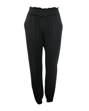 Shirred Waist & Hem Beach Pant